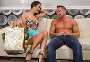 Abby Lee Brazil and Johnny Castle in mydadshotgirlfriend - Sex Position 1