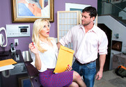 Ashley Fires and Preston Parker in mydadshotgirlfriend - Sex Position 1