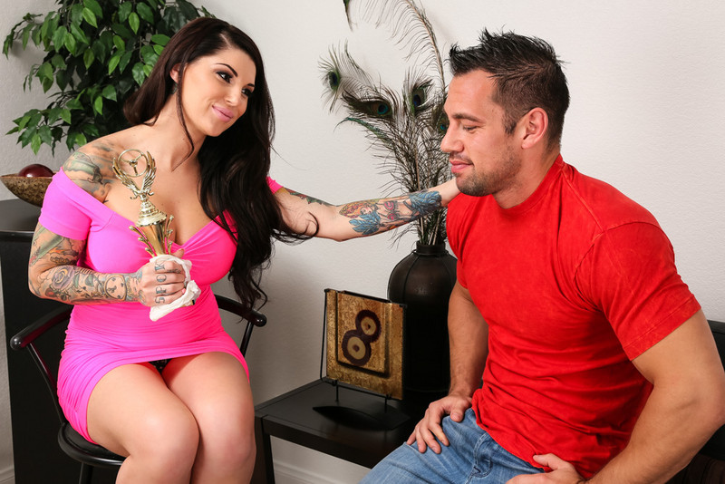 Darling Danika and Johnny Castle in mydadshotgirlfriend
