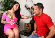 Darling Danika and Johnny Castle in mydadshotgirlfriend - Sex Position 1