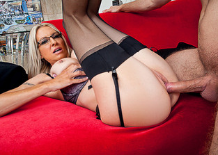 cum-on-glasses Emma Starr and Danny Wylde