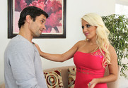 Jacky Joy and Alan Stafford in mydadshotgirlfriend - Sex Position 1