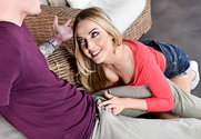 Karla Kush and Buddy Hollywood in mydadshotgirlfriend - Sex Position 1