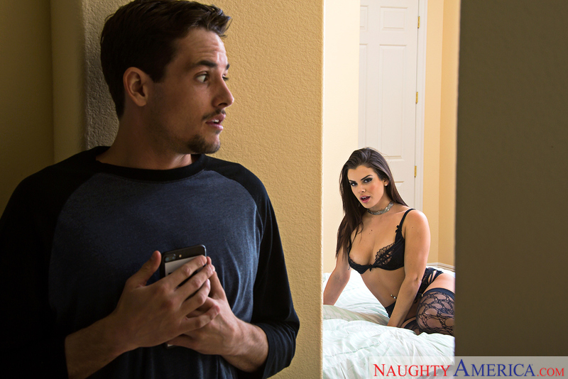 Keisha Grey and Tyler Nixon in mydadshotgirlfriend
