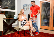 Nicole Aniston and Johnny Castle in mydadshotgirlfriend - Sex Position 1