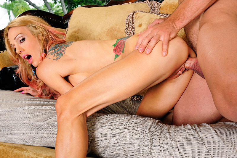 Porn star Alektra Blue having sex