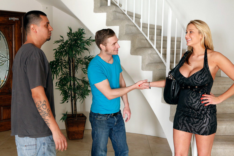 Alanah Rae and Michael Vegas in myfriendshotgirl