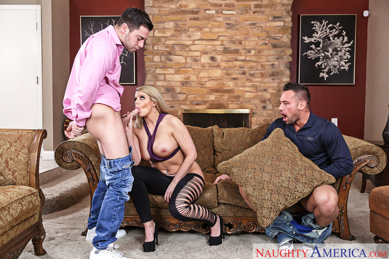myfriendshotgirl.com Brooklyn Chase and Johnny Castle and Seth Gamble