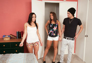 Gracie Glam, Mischa Brooks and Xander Corvus in myfriendshotgirl - Sex Position 1