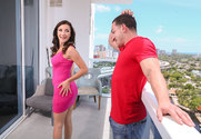Jade Amber and Peter Green in myfriendshotgirl - Sex Position 1