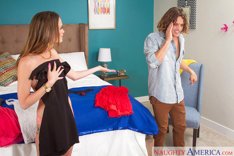 Kacy Lane and Tyler Nixon in myfriendshotgirl