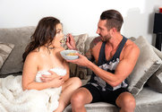 Kimber Woods and Quintin James in myfriendshotgirl - Sex Position 1