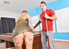 Kleio Valentien and Johnny Castle in myfriendshotgirl