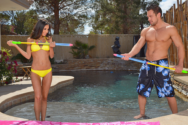 Trinity St. Clair and Johnny Castle in myfriendshotgirl