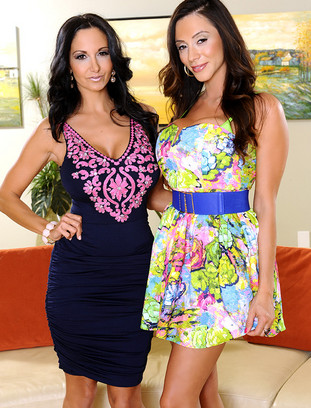 Ariella Ferrera, Ava Addams and Johnny Castle naughtyamerica