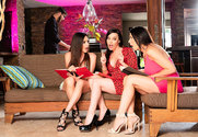 Ariella Ferrera and Dana DeArmond and Reagan Foxx and Logan Long in myfriendshotmom - Sex Position 1