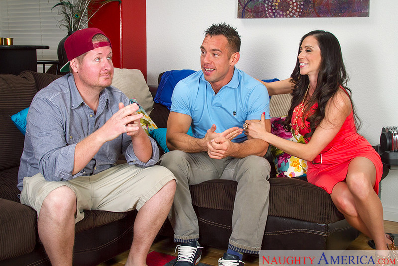 Ariella Ferrera and Johnny Castle myfriendshotmom