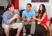 Ariella Ferrera and Johnny Castle in myfriendshotmom - Sex Position 1