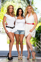 Julia Ann, Brandi Love, Ava Addams and Mr. Pete in myfriendshotmom