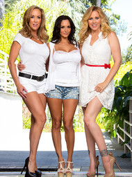 Julia Ann, Brandi Love, Ava Addams and Mr. Pete in myfriendshotmom - Centerfold