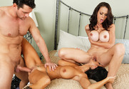 McKenzie Lee, Ava Addams and Preston Parker in myfriendshotmom - Sex Position 2