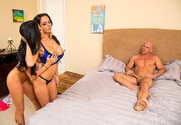 Ava Addams, Romi Rain and Johnny Sins in myfriendshotmom - Sex Position 1