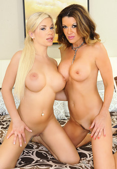 Raquel DeVine, Bibi Noel and Preston Parker