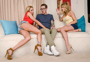 Briana Banks and Jessa Rhodes and Buddy Hollywood in myfriendshotmom - Sex Position 1
