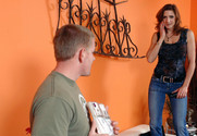 Christina Noir and Jack Venice in myfriendshotmom - Sex Position 1