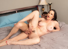 Dana DeArmond and Logan Long in myfriendshotmom