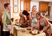 Darla Crane, Deauxma, Holly Halston and Julia Ann in myfriendshotmom - Sex Position 1