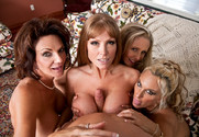 Darla Crane, Deauxma, Holly Halston and Julia Ann in myfriendshotmom - Sex Position 2