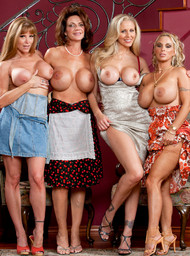 Darla Crane, Deauxma, Holly Halston and Julia Ann in myfriendshotmom - Centerfold
