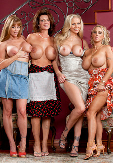 naughtyamerica Darla Crane, Deauxma, Holly Halston and Julia Ann
