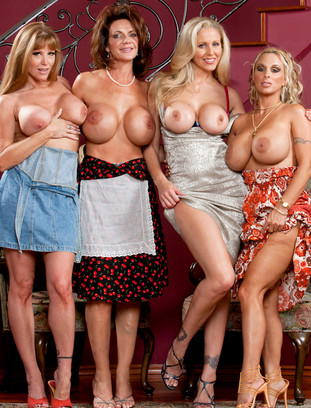 Darla Crane, Deauxma, Holly Halston and Julia Ann naughtyamerica