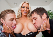 Emma Starr, Johnny Castle and Michael Vegas in myfriendshotmom - Sex Position 2