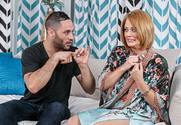 Holly Heart and Damon Dice in myfriendshotmom - Sex Position 1