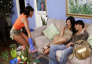 Lake Russell, Susana DeGarcia and Anthony Rosano in myfriendshotmom - Sex Position 1