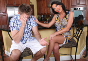 Lezley Zen and Levi Cash in myfriendshotmom - Sex Position 1